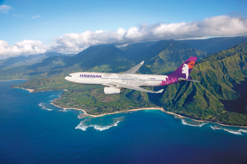 Hawaiian Airlines suspend flights