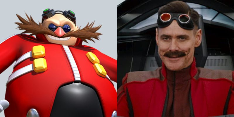 Watch Jim Carrey Fight Sonic The Hedgehog In 2019 S Strangest Film