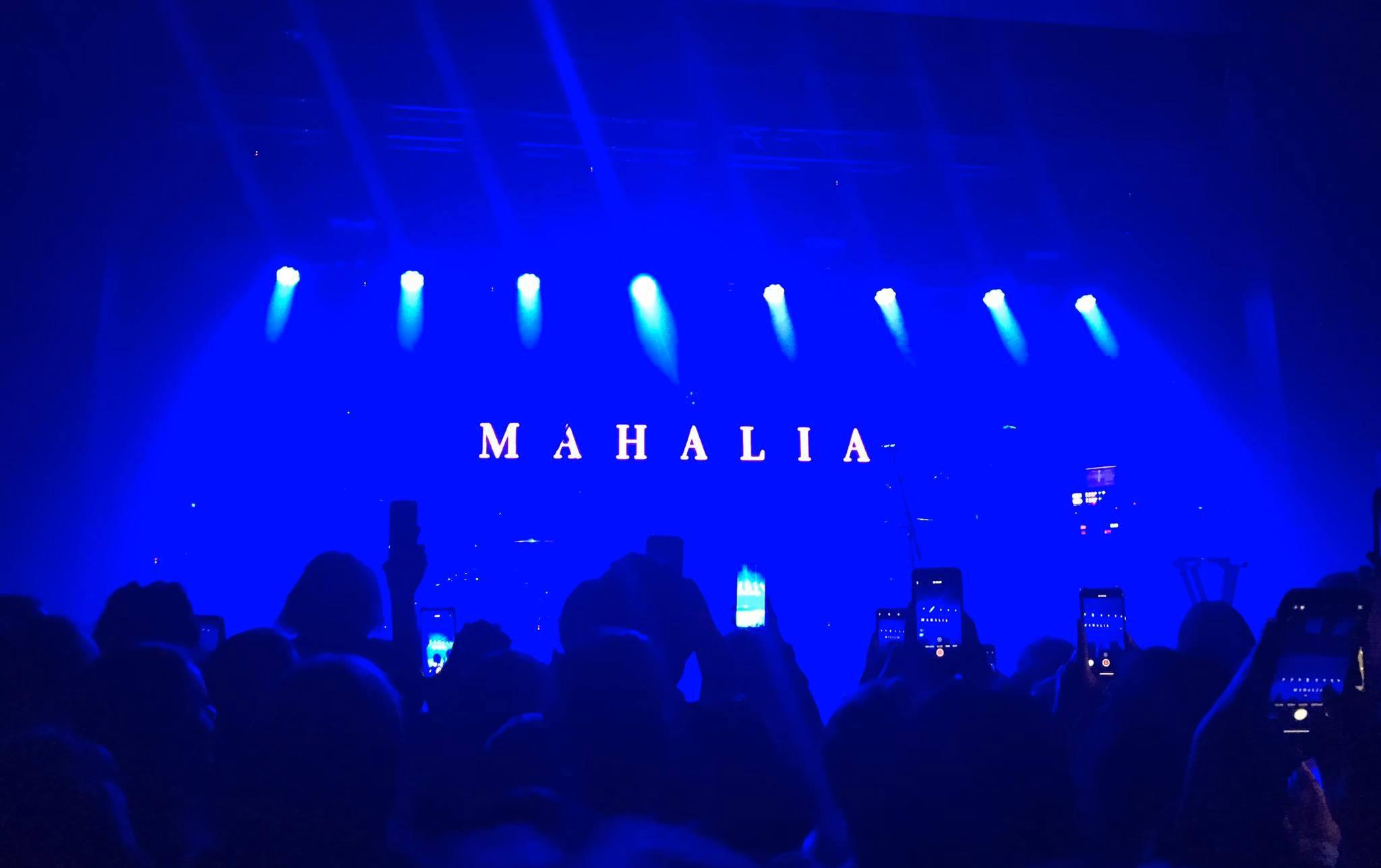 Mahalia, Melbourne, concert
