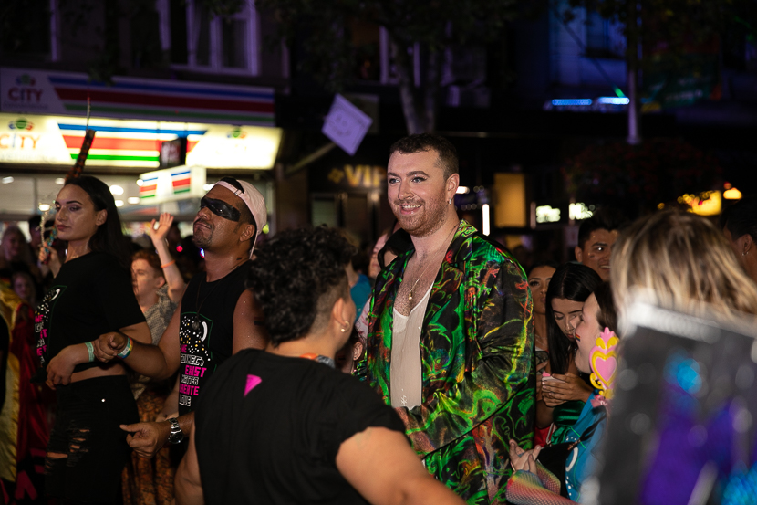 Sam Smith Sydney Mardi Gras