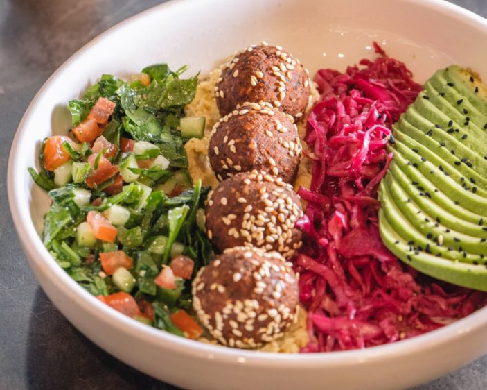 Above Par Falafel Bowl
