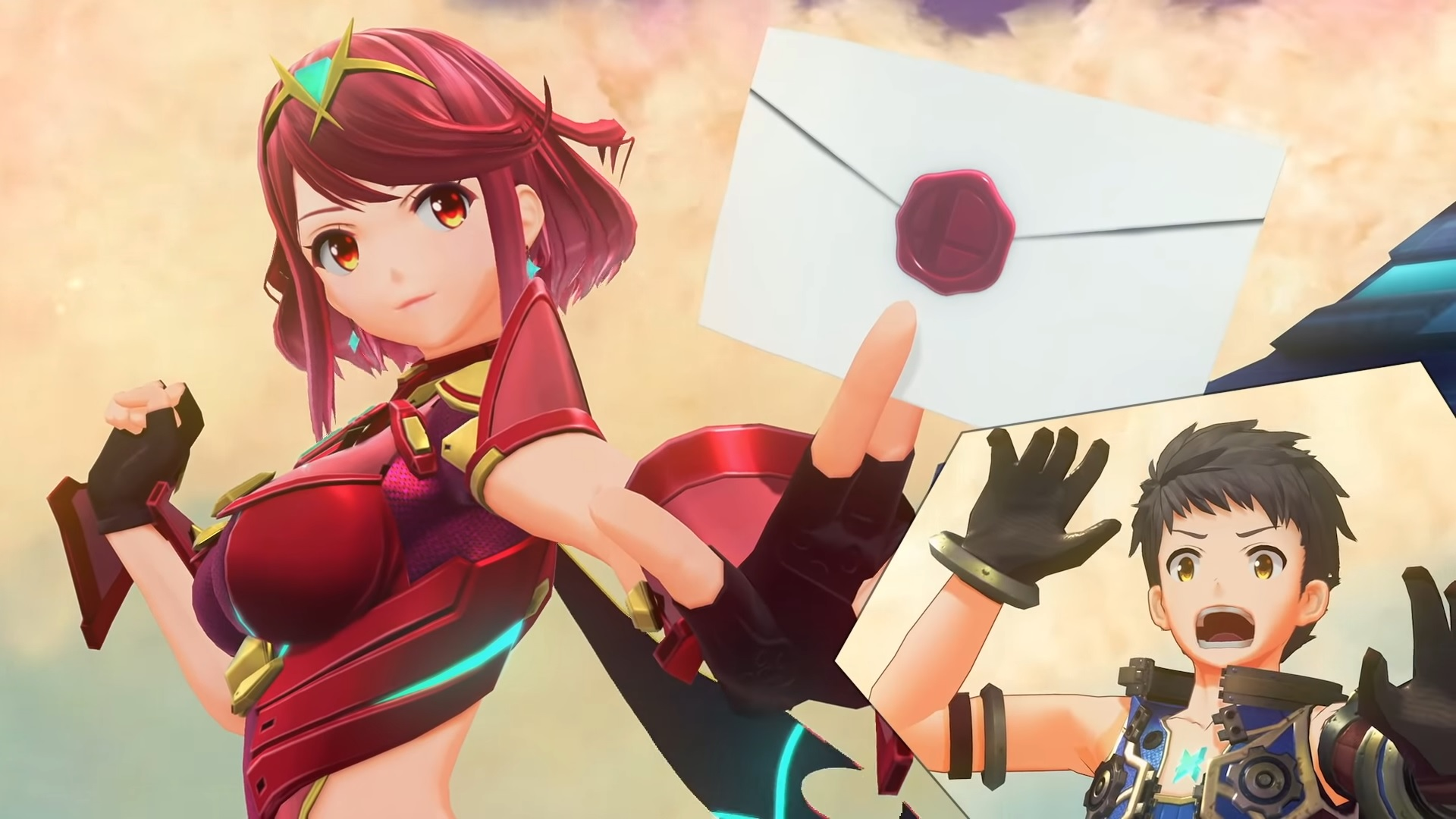 Smash Bros Pyra